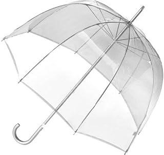 Totes Signature Manual Bubble Umbrella,Clear,US