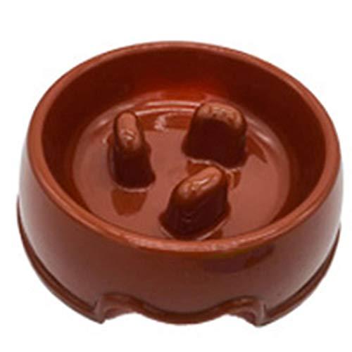Tuneway Slow Food Dog Bowl Slow Food Anti-Bite Fun Interactive Pet Bowl