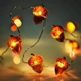 Lauva Christmas String Lights Acorn Decorative Festive Lights Battery...