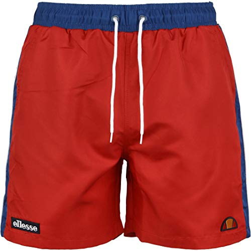 ellesse Badehose Herren Genoa Swim Short Red Rot, Größe:M