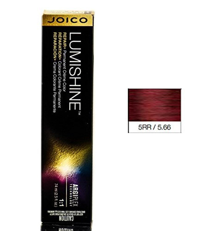 Joico Lumishine永久クリーム色、5RR / 5.66、 2.5オンス