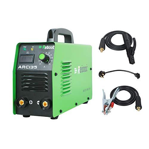 Reboot Stick Welder Inverter Dual Voltage ARC135 Portable Stick Welder...