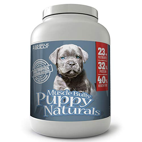 Muscle Bully Puppy Naturals (60 Serving) - A...
