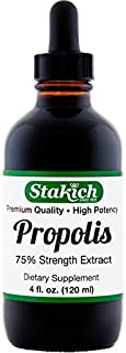 Stakich Bee Propolis 4 Ounce Liquid Extract, 75 Percent