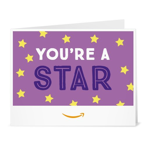 Amazon Gift Card - Print - You're a Star (Purple)