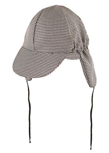 labreeze Herren Sherlock Holmes Detektiv Deerstalker Hut Schwarz Weiß