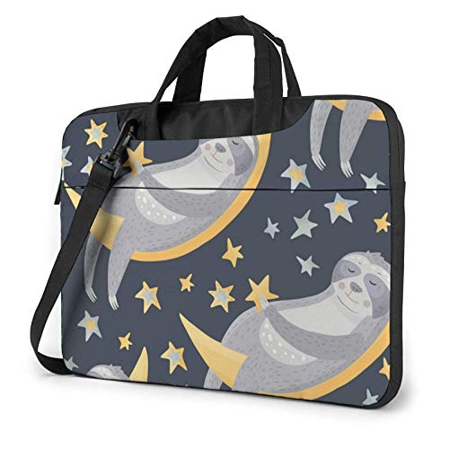 Slo-TH Sleep Laptop Bag Messenger Bag Maletín Satchel Shoulder Crossbody Sling Bolsa de Trabajo