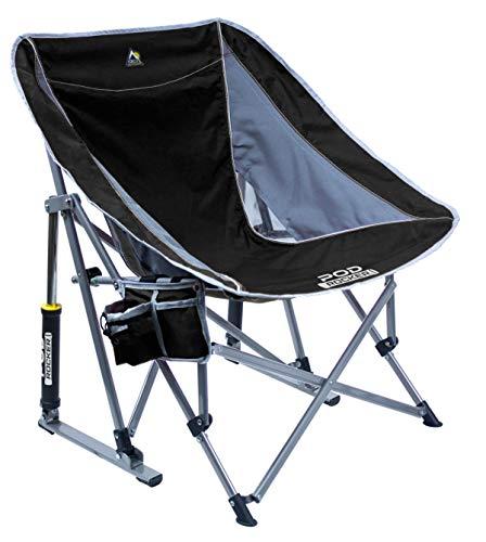 GCI Outdoor Pod Rocker Chair (Black)