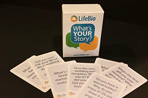 LifeBio What's Your Story? Story Cards