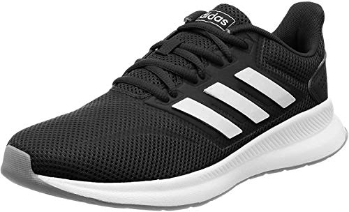 adidas Damen Falcon Laufschuhe, Schwarz (Core Black/Footwear White/Grey 0), 36 2/3 EU