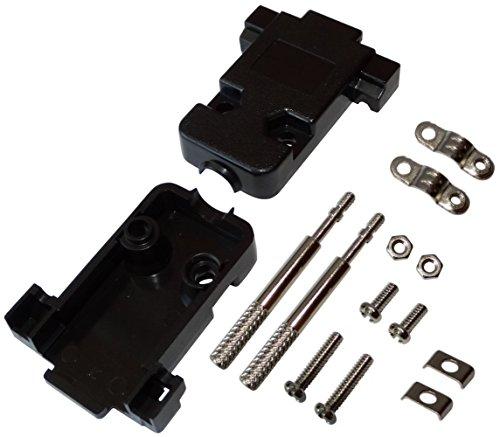 Aerzetix 3-delige behuizing voor aansluiting D-Sub 9-pins of D-Sub HD 15-pins VGA