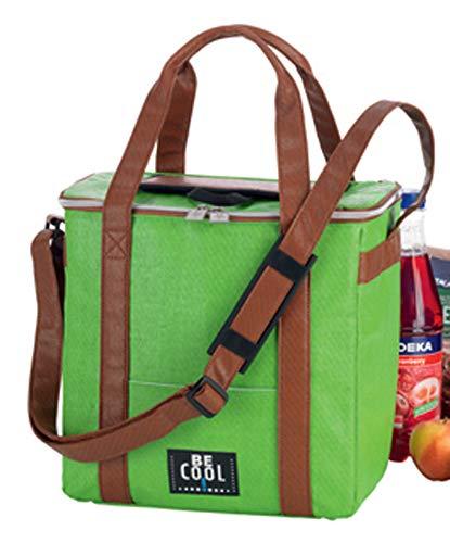 Kühltasche Kühlbox 19 Liter grün Outdoor hochwertig BE CooL Travelbox Picknickkorb foolonli