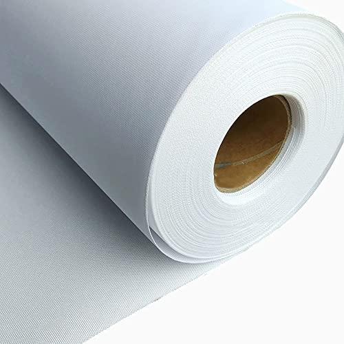 uyoyous Leinwand 0.6m x 30m Leinwand auf Rolle Premium Maltuch 240g/m² 100% Baumwolle Klare Maserung leinwand sehr reißfest Leinwandrolle für Malerei,Druckerei
