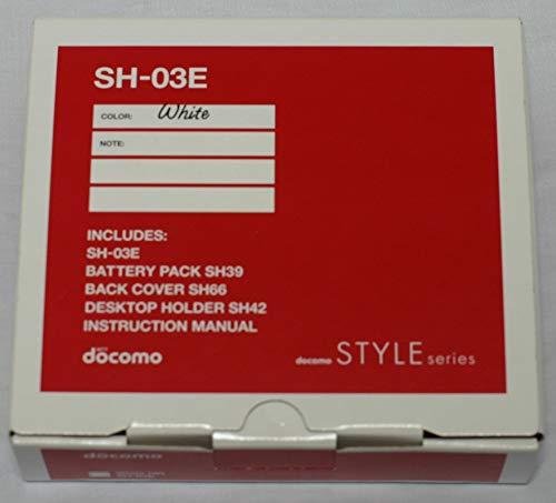 docomo STYLE series SH-03E [White]