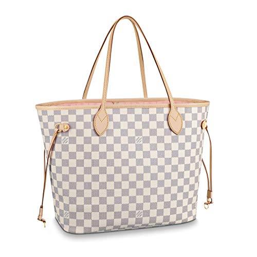 Louis Vuitton Damier Azur Rose Baleria Shoulder Handbag Neverfull MM Article: N41605