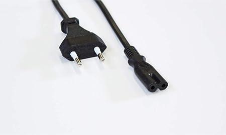 Wantecwire Netzkabel Eurostecker Länge 0 3 M Schwarz Computer Zubehör