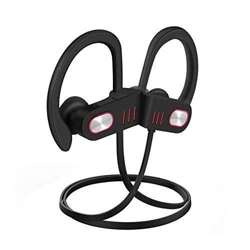 Bluetooth Headphones, Best Wireless Sports Earphones HD Stereo Sweatproof...