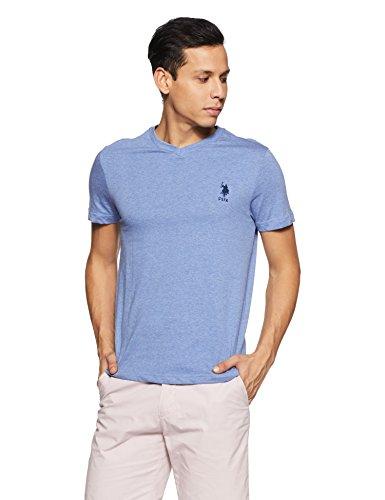 US Polo Association Heathered V-Neck T-Shirt