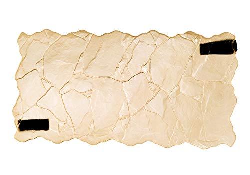 3D Steine Muster Schieferplatte Nahtlose Textur Dekorative Beton Abdruckmatte