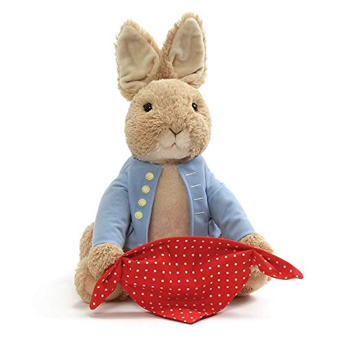 GUND Peter Rabbit Peek-A-Boo Plush Animated Toy 10 Multicolor