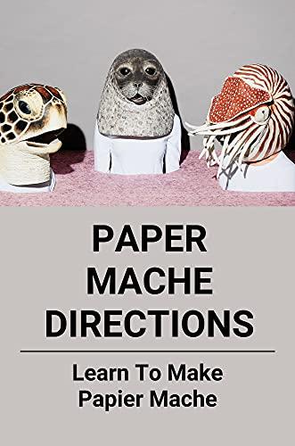 Paper Mache Directions: Learn To Make Papier Mache: Create Papier Mâché (English Edition)