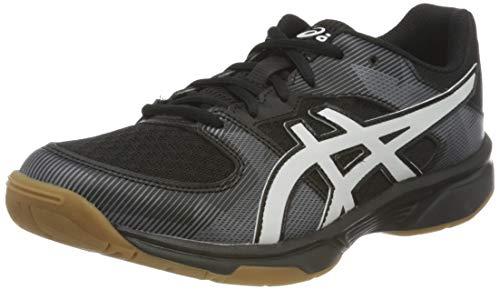 ASICS Unisex Kinder 1074a014-003_39 volleyball shoes, Schwarz, 39 EU