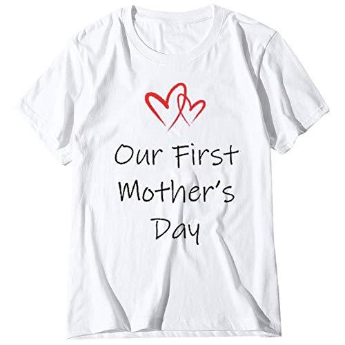 FOTBIMK Día de la Madre Camiseta Niños Bebé Niña Niño Gateando Ropa Mamá Set(,)