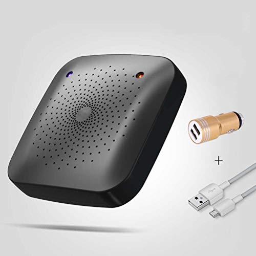 XZGSS Ultradünn Milbencontroller Tragbar 360 ° Ohne Toten Winkel Ultraschall Geräuschloser Allergie-Controller, Wirksam Entfernt Staubmilben, Bakterien, Reduziert Chluss mit Niesen,B