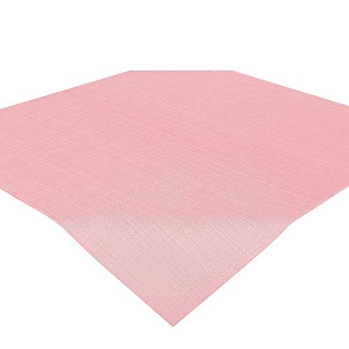 Tischdecke Wien, rosa, 85x85 cm, Fleckschutz, Mitteldecke für das ganze Jahr