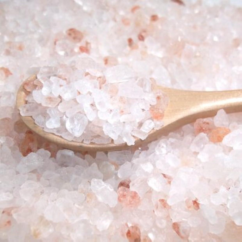 宣言シェーバー針ヒマラヤ岩塩 ピンクバスソルト(1-3ミリサイズ) 400g
