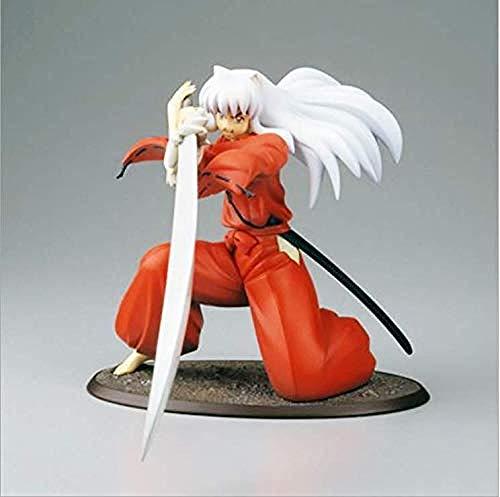 KIJIGHG Inuyasha un Cuento de Hadas feudal Inuyasha Figura de accion 1/8 PVC Figura de Anime Figuras de accion Modelo de Personaje de Anime 19CM