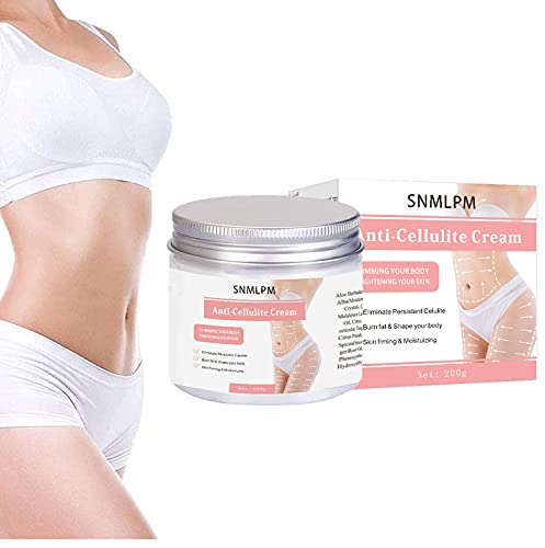 Hot cream woman, Body Fat Burning Slimming Cream for Belly, Anti Cellulite Cream, Natural Sweat Workout Enhancer Gel, Cellulite Treatment for Thighs, Legs, Abdomen, Arms and Buttocks, for Men or Women-7 Oz(200g)