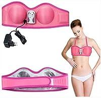 電気胸拡大マッサージャー熱い胸マッサージブラ胸は刺激装置胸振動マッサージ胸のケアを拡大します