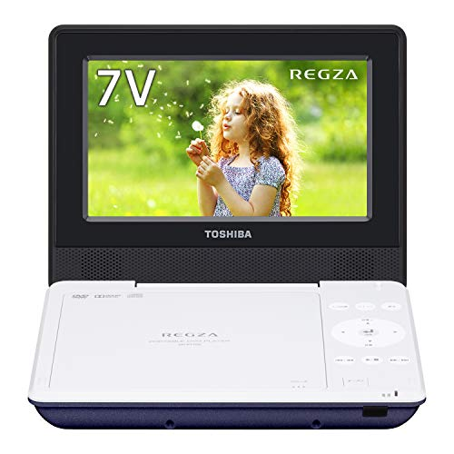 Lowest Prices! TOSHIBA REGZA 7-inch portable DVD player Blue CPRM corresponding SD-P710SL