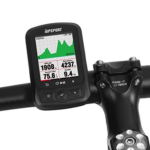 DOOK Ciclocomputadores GPS Ordenador inalámbrico Bicicleta Ciclismo Cuentakilometros Bici 25 Horas de...