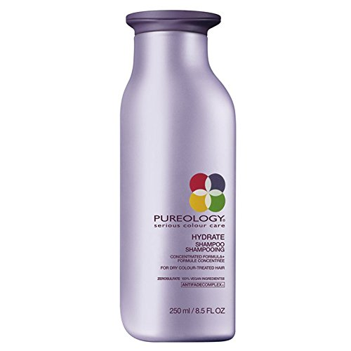 Pureology Hydrate Moisturizing Shampoo | For Medium to Thick Dry, Color Treated Hair | Sulfate-Free | Vegan | 8.5 oz.