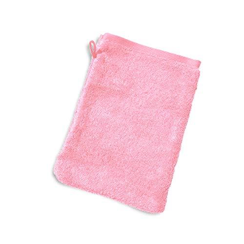 Linnea Gant de Toilette 16x21 cm Pure Rose Bonbon 550 g/m2