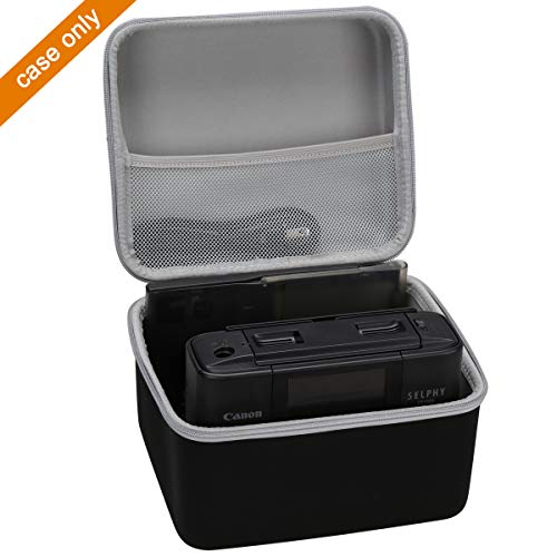 Duro Estuche Viajes Funda Bolso para Canon Selphy CP1300 /& CP1200 Impresora fotogr/áfica inal/ámbrica por LUYIBA