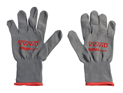 VViViD Grey Professional Vinyl Wrap Anti-Static Applicator Glove Pair (2 Glove Pack)