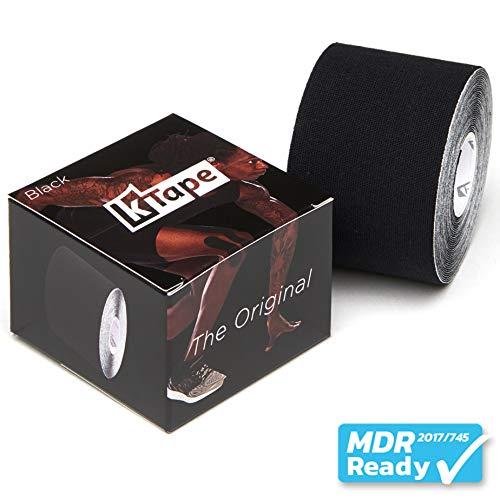 K-Tape® Schwarz (Einzelrolle, 5cm x 5m)