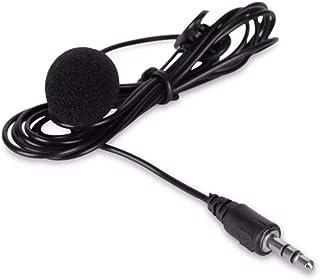 Upgrade 3,5mm Mini Headset Mikrofon Universal Revers Lavalier Clip Mikrofon für Vortrag Lehre Konferenz Guide Studio Mic|M...