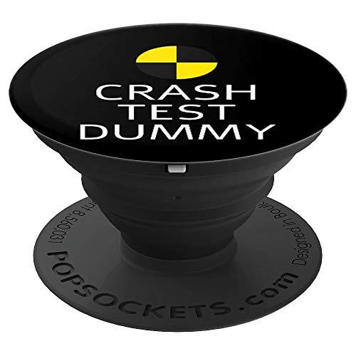 Crash Test Dummy Easy Last Minute Funny Costume Gift for men - PopSockets Ausziehbarer Sockel und Griff für Smartphones und Tablets