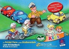KID Lern-Stickerbuch Polizist A5