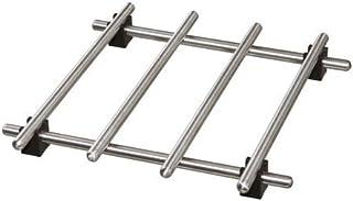 comprar comparacion Ikea–Salvamanteles lämplig Sartén Posavasos de Acero Inoxidable–con Patas de Goma–18x 18cm