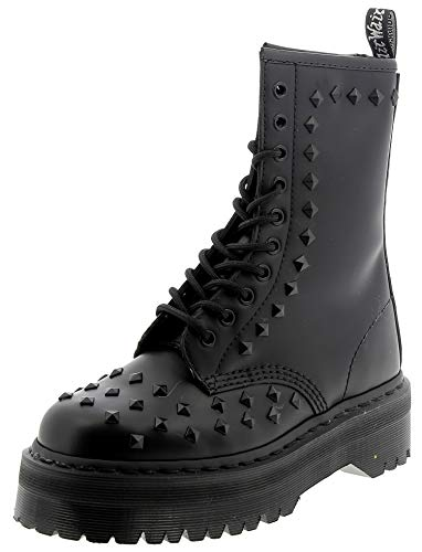 Dr. Martens 1490 Stud- Black Smooth 7 UK