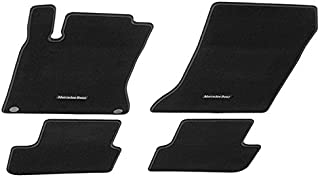 Mercedes-Benz Genuine OEM Carpeted Floor Mats CLA-Class 2014 to 2017 (Black)