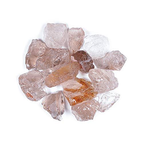 Crystal Allies 1 Pound Bulk Rough Smoky Quartz Reiki Crystal Healing Stones Large 1'