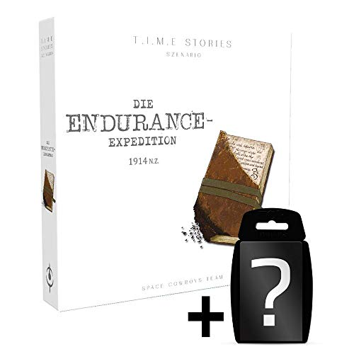 TIME Stories - Die Endurance Expedition - Erweiterung-4 | DEUTSCH | Set inkl. Kartenspiel