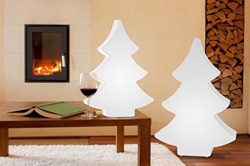 8 seasons design | LED Leuchtender Weihnachtsbaum Shining Tree (113 cm groß, 15 Farben, Farbwechsel, IP44, Weihnachtsdeko für Haus & Garten)