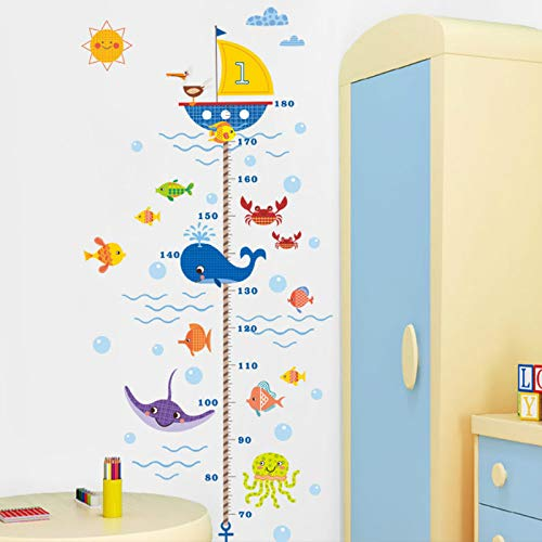 Kibi Pegatinas De Pared De Peces Submarinos Niños Stickers Infantiles